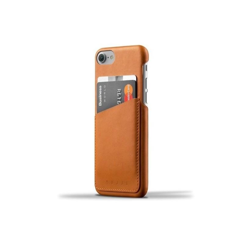 Mujjo Wallet Case iPhone 7 / 8 / SE 2020 braun