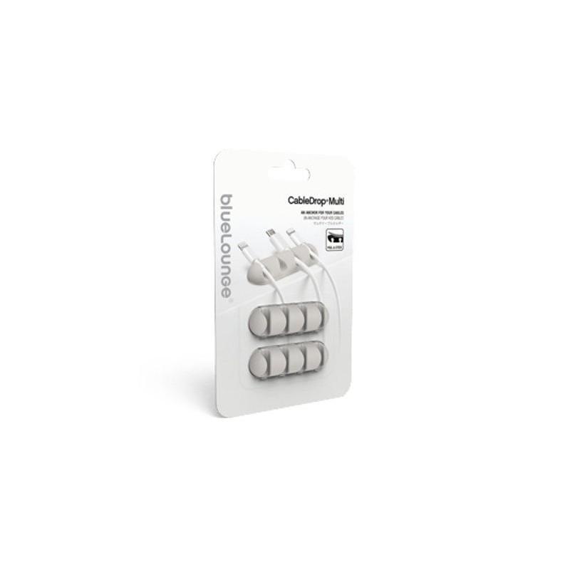 Bluelounge CableDrop multi 2er Pack weiß