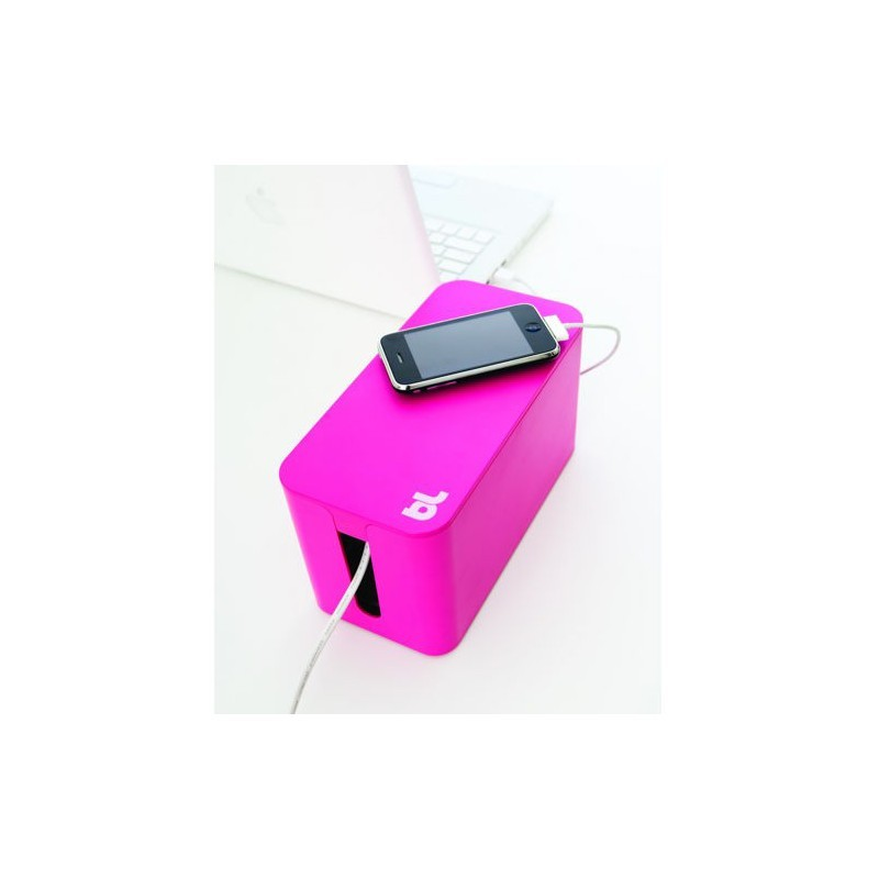 Bluelounge CableBox Mini rosa