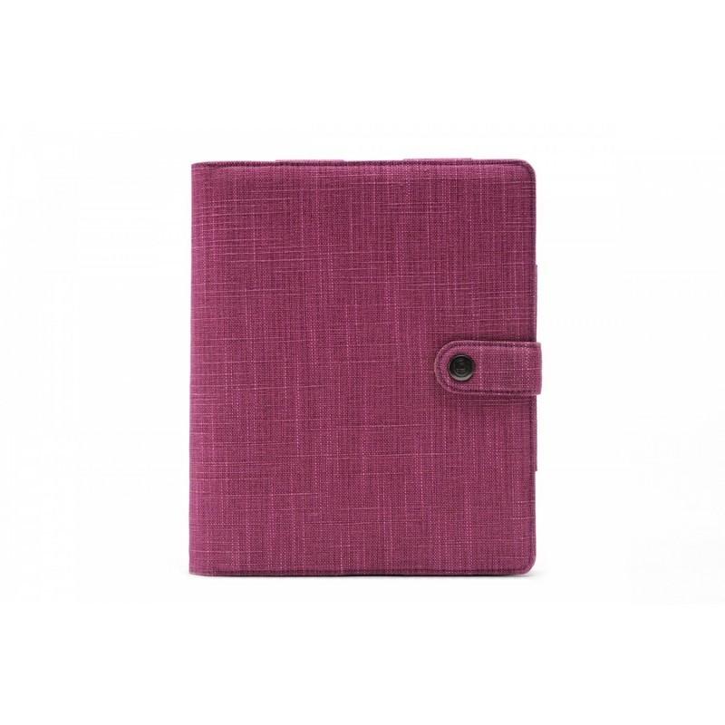 BooqPad iPad 2/3/4 Lila Pflaume
