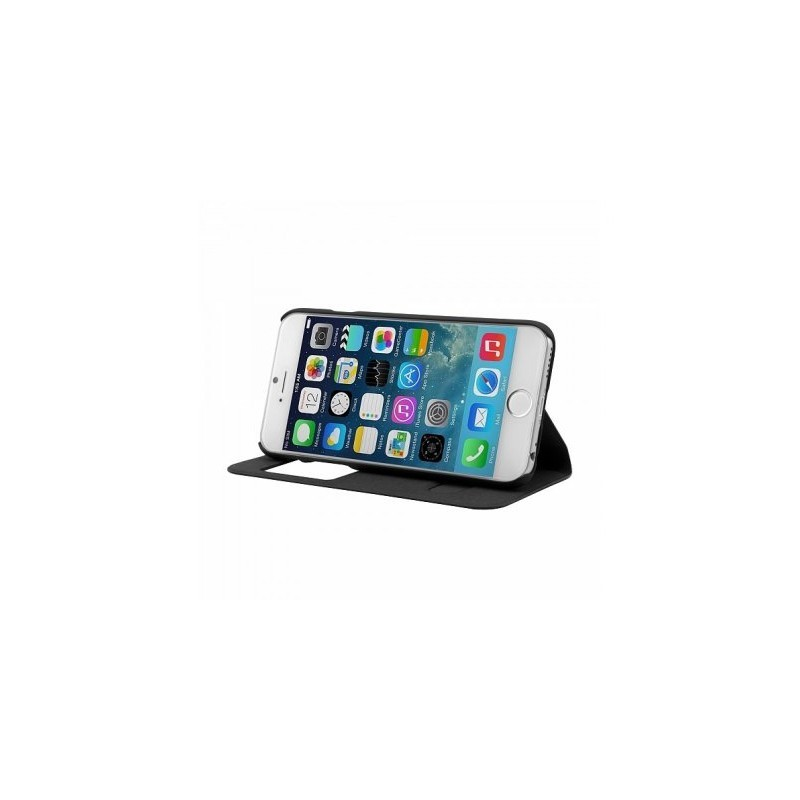 Bugatti Book Case Lausanne iPhone 6(S) schwarz