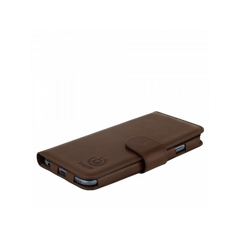 Bugatti Book Case Milano Leder  iPhone 6(S) Plus braun
