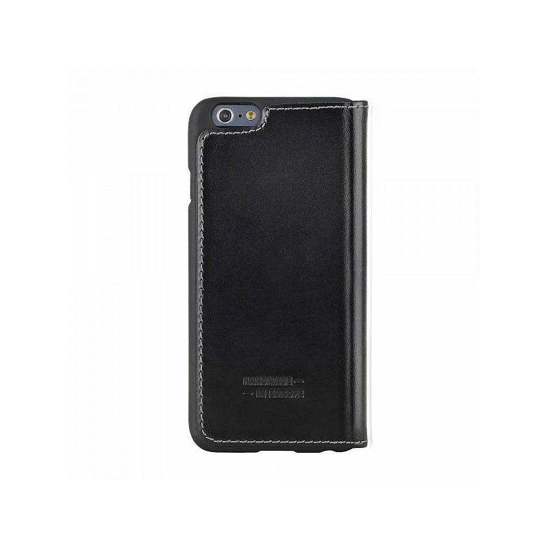 Bugatti BookCover Oslo Leder iPhone 6(S) schwarz