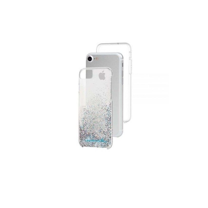 Case-Mate Naked Tough Waterfall Case iPhone 6(S)/7 Silber