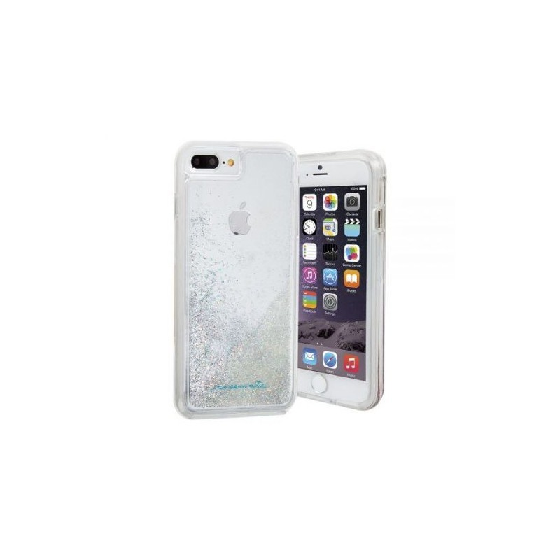 Case-Mate Naked Tough Waterfall Case iPhone 6(S)/7 Plus Silber