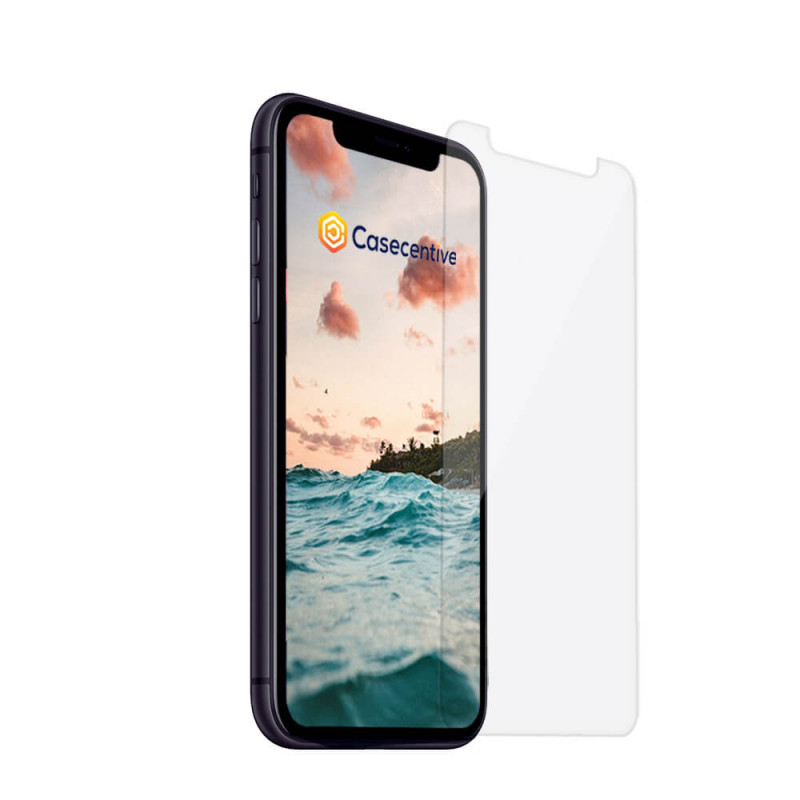 Casecentive Tempered Glas Screen Protector 2D iPhone 11 / XR