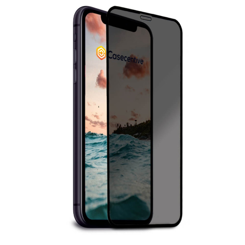Casecentive Privacy Glass Screen Protector 3D Full Cover iPhone 11 Pro Max