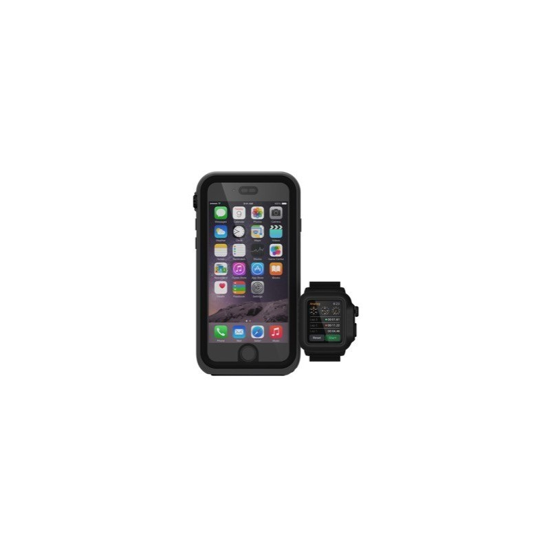 Catalyst Waterproof Apple Watch 42mm Case schwarz