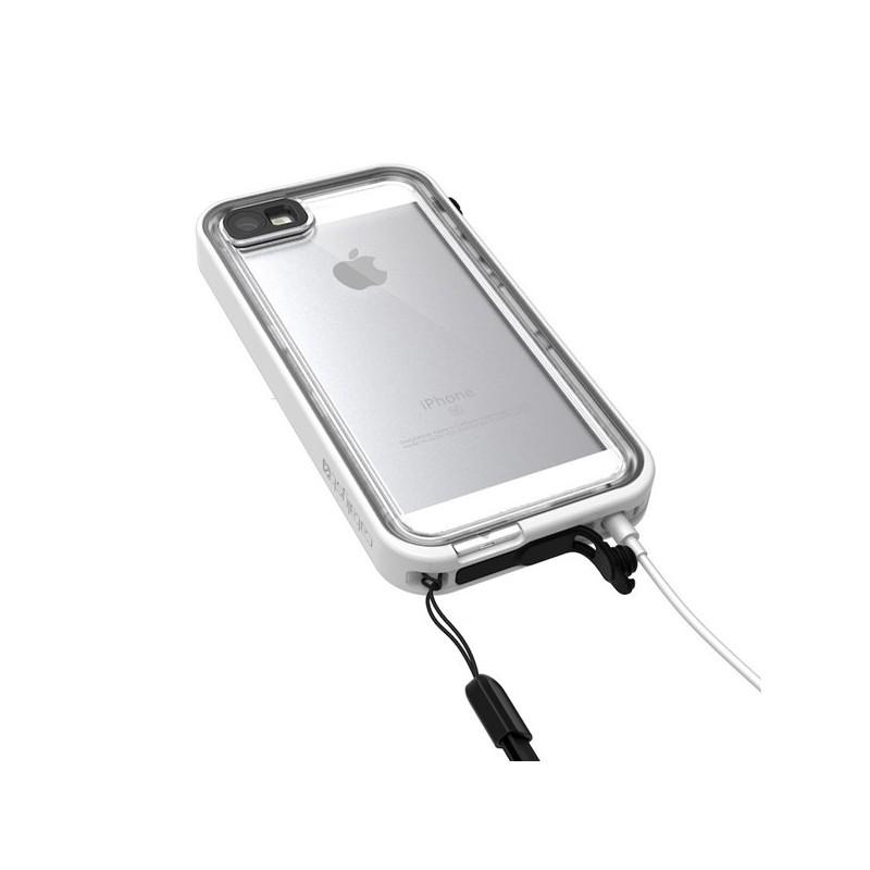 Catalyst wasserdichte Hülle iPhone 5(S)/SE weiß