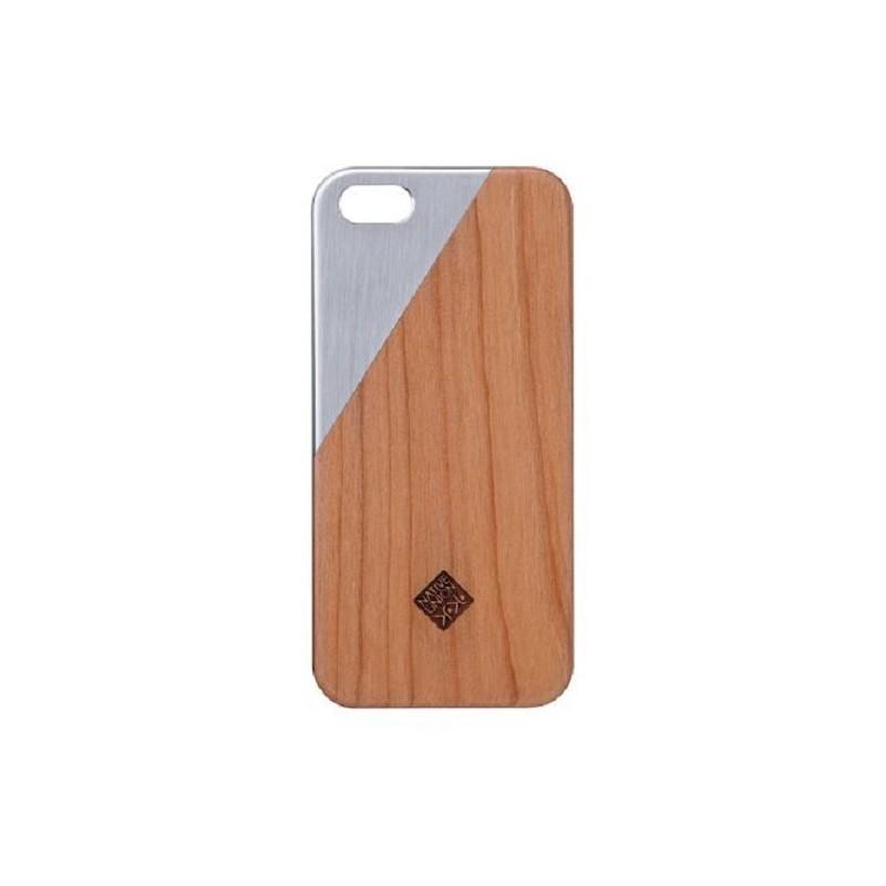 Native Union Clic Metal iPhone 5(S)/SE Cherry Silver