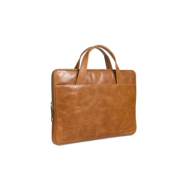 """DBramante1928 Silkeborg Leder Tasche 15"""" braun"""