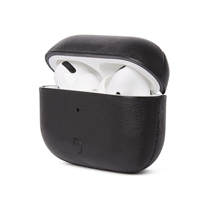 Decoded Airpod Pro Leather Case schwarz
