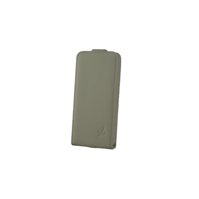 Dolce Vita Flip Case Leder iPhone 5(S)/SE weiß