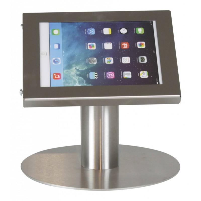 Tablet Tischständer Securo iPad Mini und Galaxy Tab 3 in Edelstahl