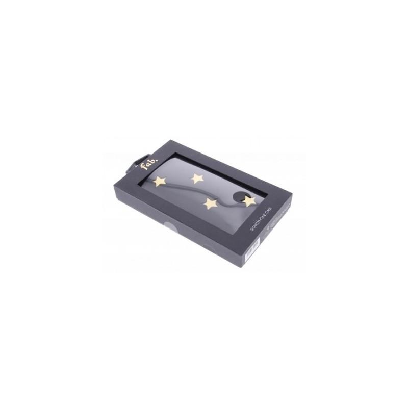 Fab Star Book Case iPhone 5(S)/SE schwarz