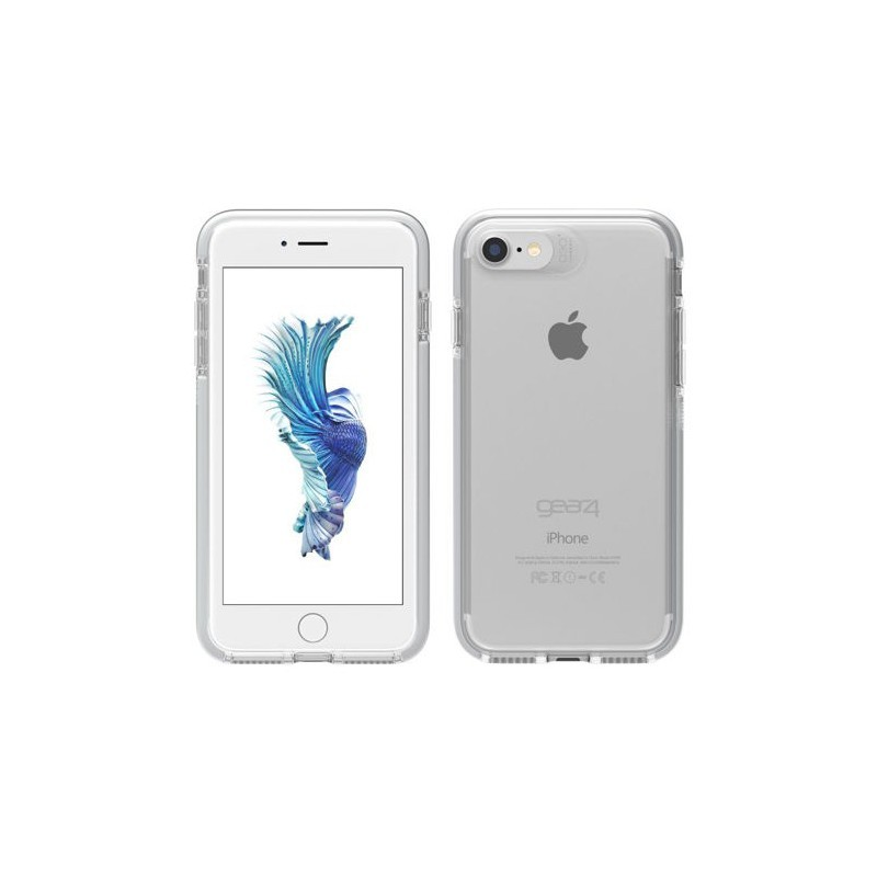 GEAR4 D3O Piccadilly für iPhone 7 Silber