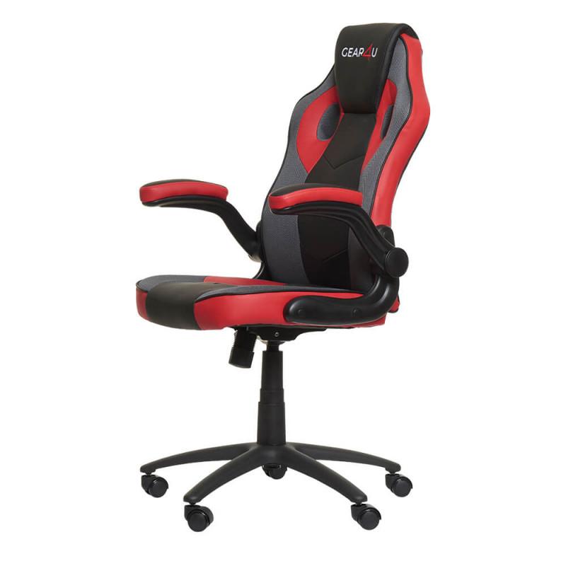 Gear4U Gambit Pro Gaming Stuhl rot / schwarz