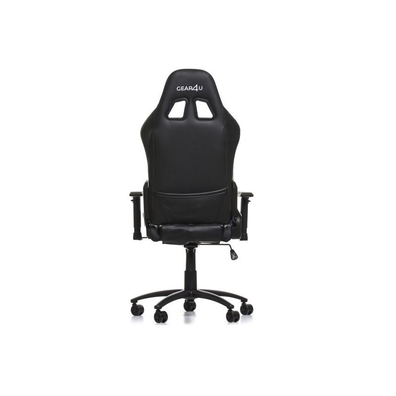 Gear4U beleuchteter Gaming Stuhl RGB / LED schwarz