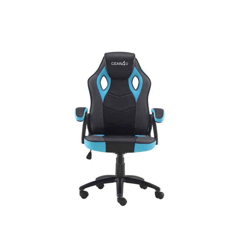 Gear4U Rook Gaming Stuhl Blau / Schwarz