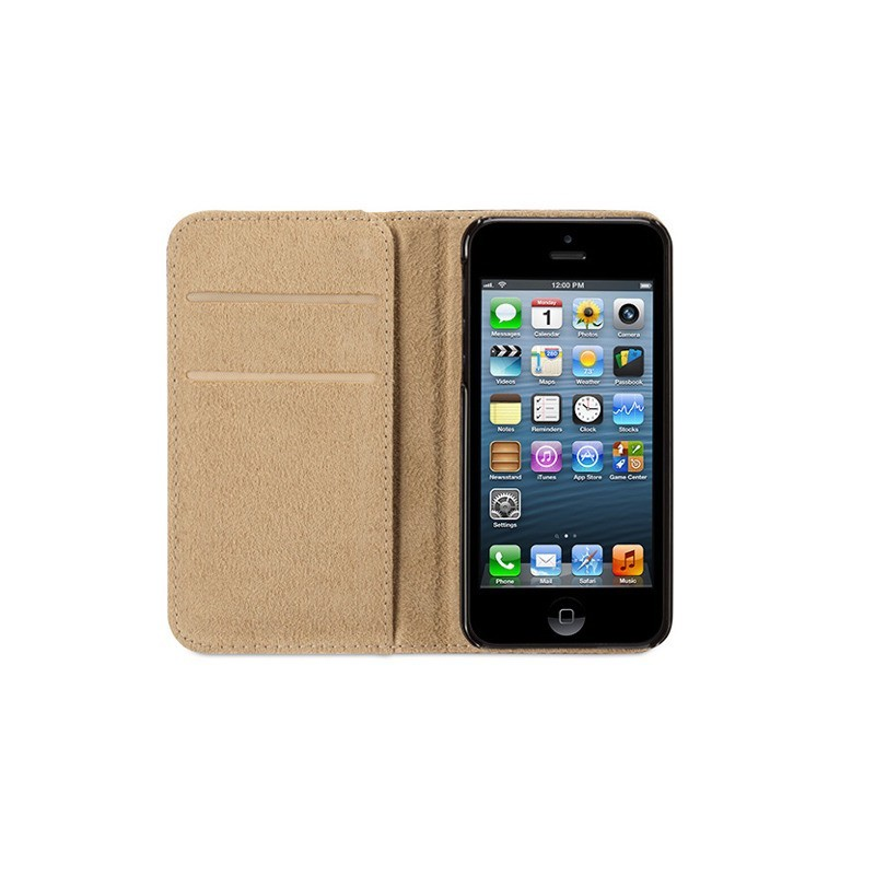 Griffin Passport Wallet Case iPhone 5(S)/SE schwarz