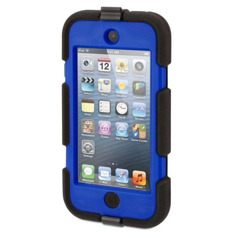 Griffin Survivor Hardcase iPod Touch 5/6 blau/schwarz