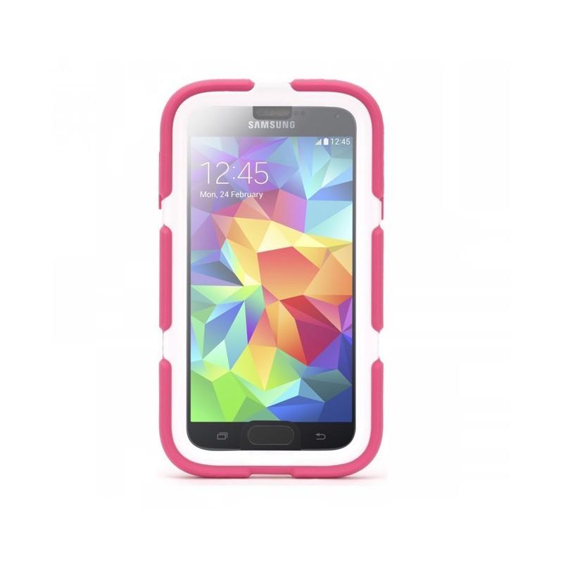Griffin Survivor Hardcase Galaxy S5 roze