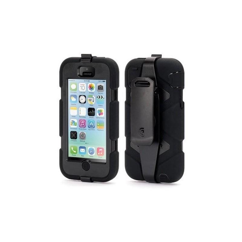 Griffin Survivor Hardcase iPhone 5C schwarz