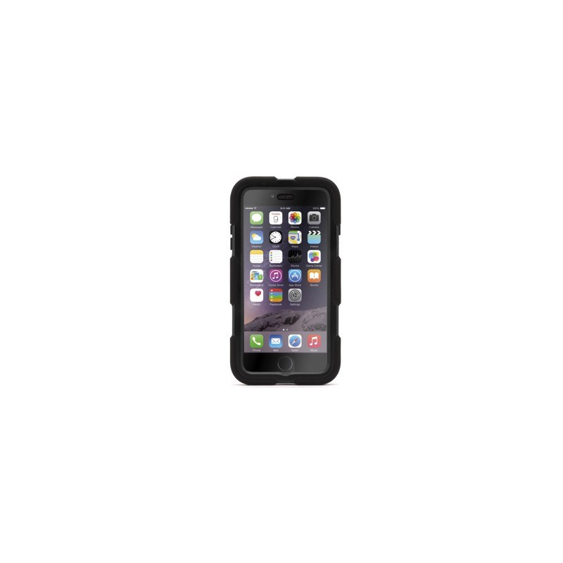 Griffin Survivor Journey hardcase iPhone 6(S) schwarz