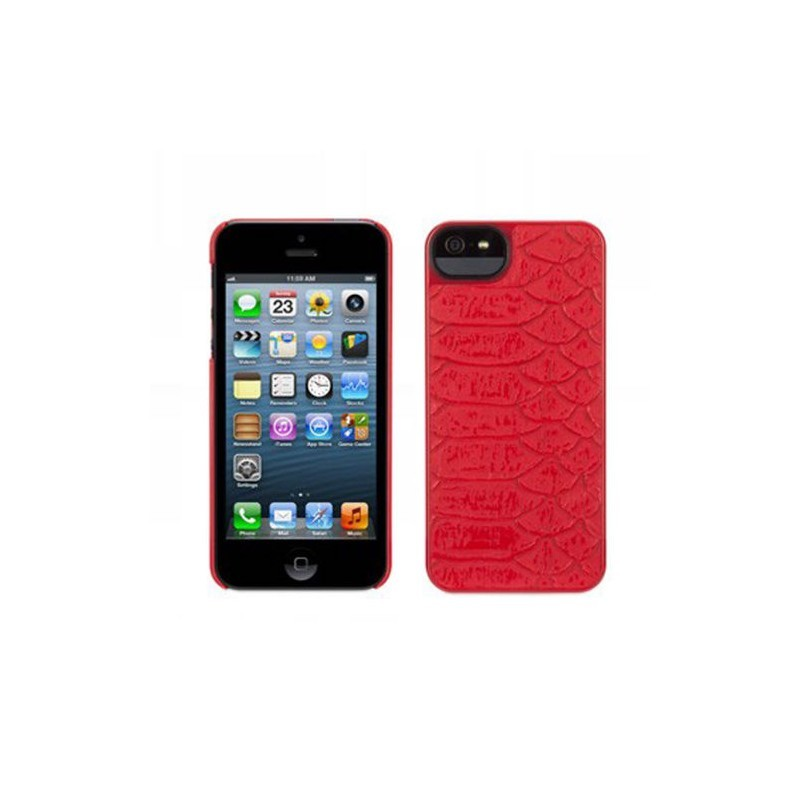 Griffin Moxy Form iPhone 5(S)/SE rot