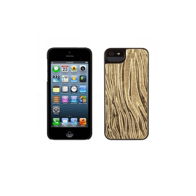 Griffin Moxy Form iPhone 5(S)/SE Zebra gold/schwarz