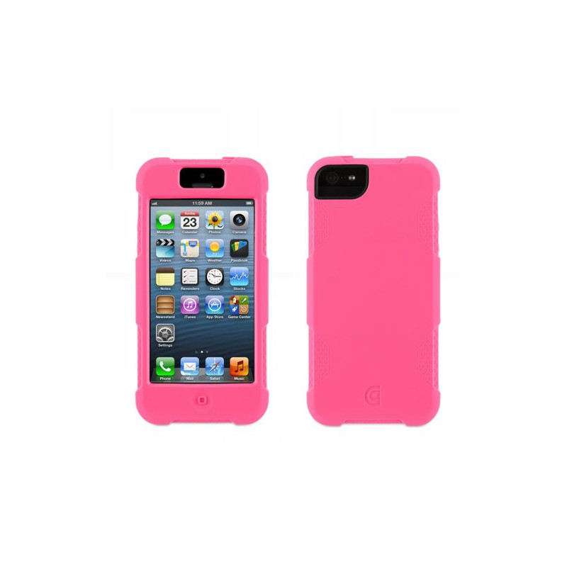 Griffin Protector iPhone 5(S)/SE fluoreszierend pink