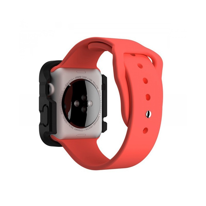 Griffin Survivor Apple Watch Hülle 38mm rot