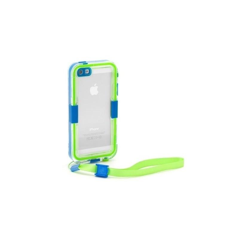 Griffin Survivor Catalyst Waterproof Case iPhone 5(S)/SE blau/grün