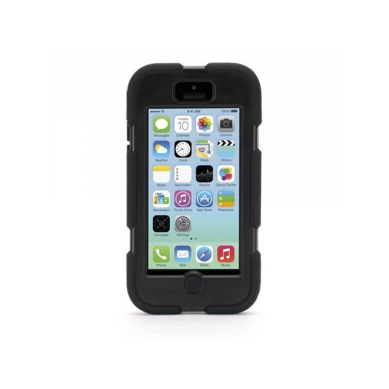 Griffin Survivor Hardcase iPhone 5C schwarz