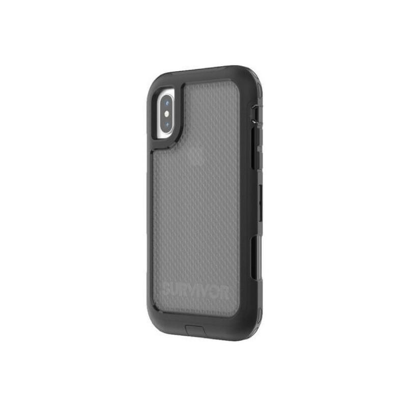 Griffin Survivor Extreme Case iPhone X / XS schwarz