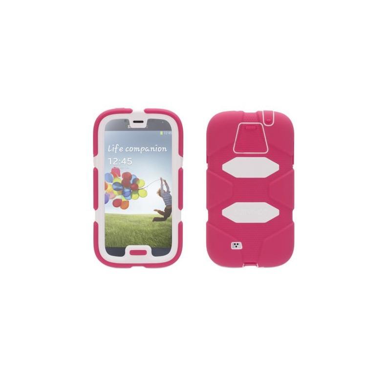 Griffin Survivor Hardcase Galaxy S4 rosa/weiß