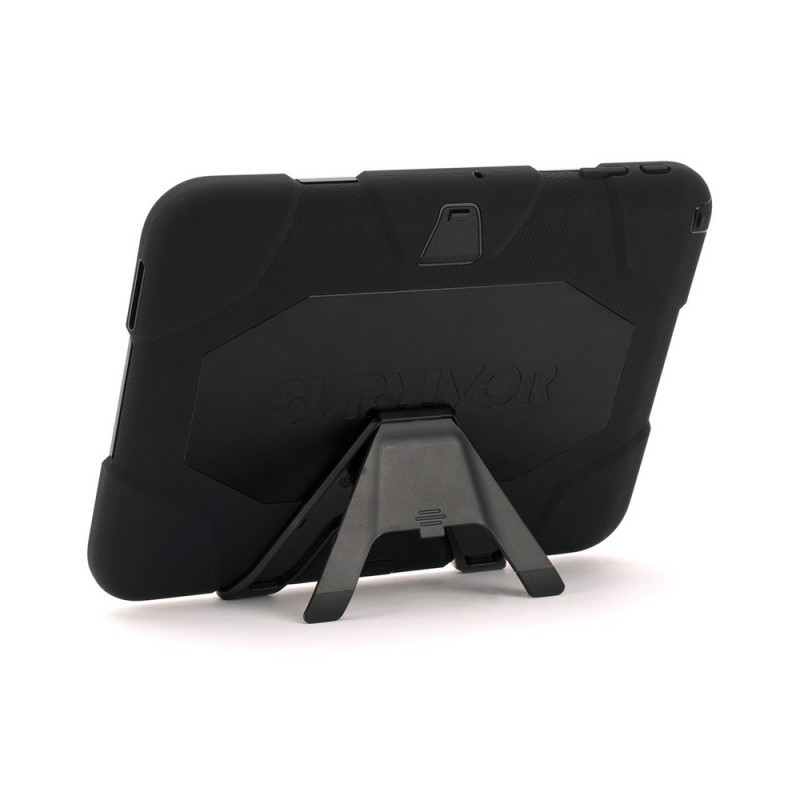 Griffin Survivor Galaxy Tab 4 10.1 Hardcase Schwarz