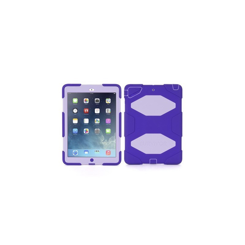 Griffin Survivor Hardcase iPad Air 1 purpur