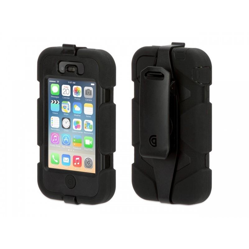 Griffin Survivor Hardcase iPhone 4(S) Schwarz