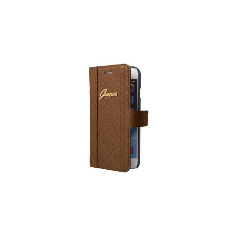 Guess Scarlett iPhone 6(S) Plus Folio Case braun
