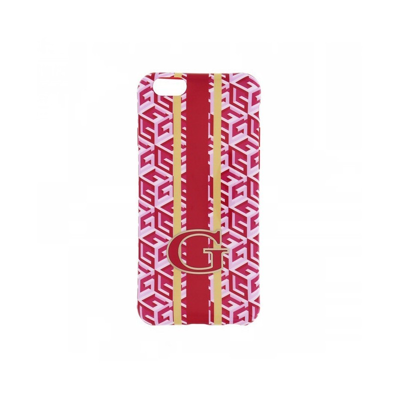 Guess G-Cube TPU Case iPhone 6(S) rood