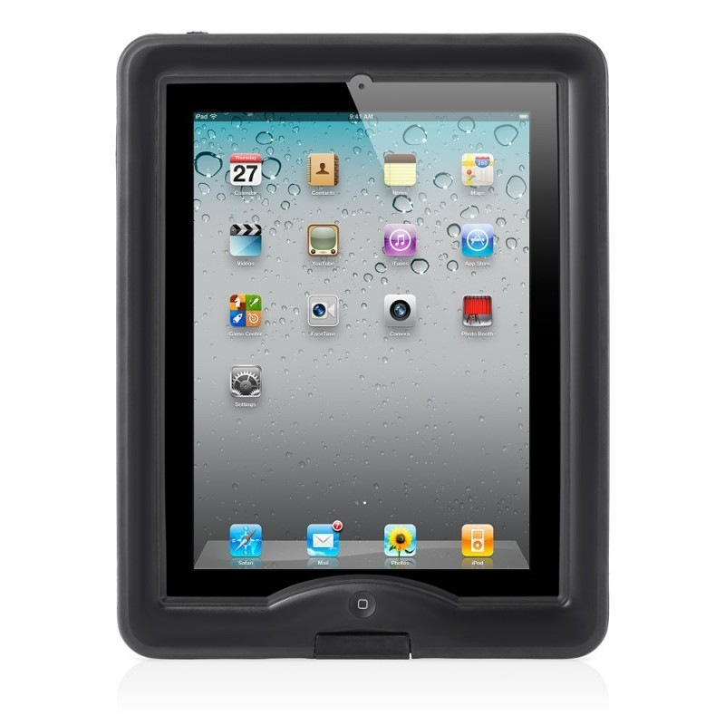 Lifeproof Nuud wasserdichtes Case iPad 2/3/4 schwarz