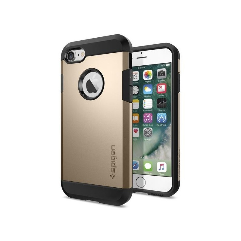 Spigen Tough Armor iPhone 7 / 8  champagne gold