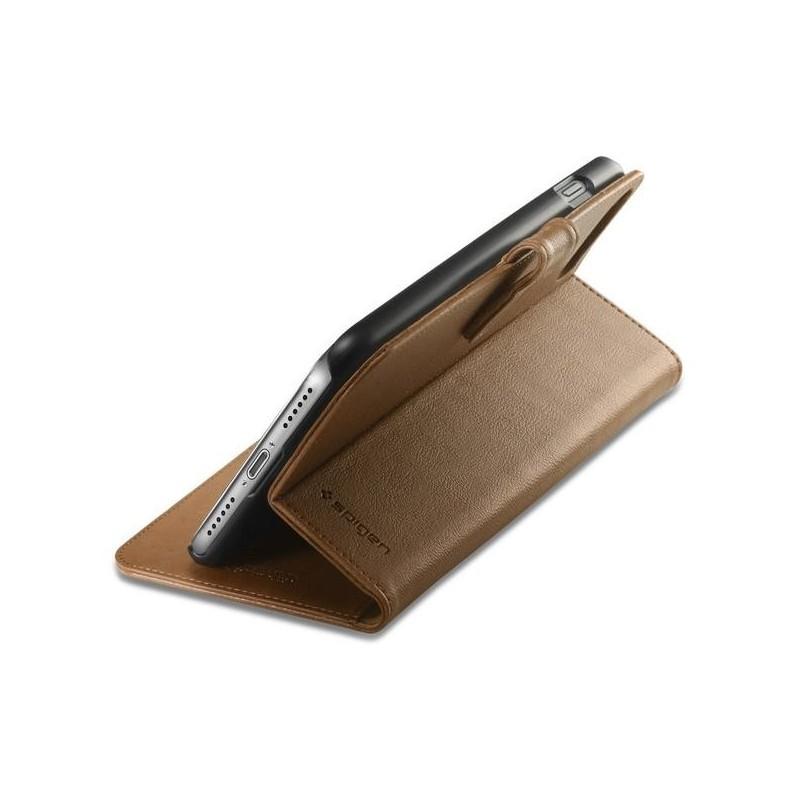 Spigen Wallet S iPhone 7 braun