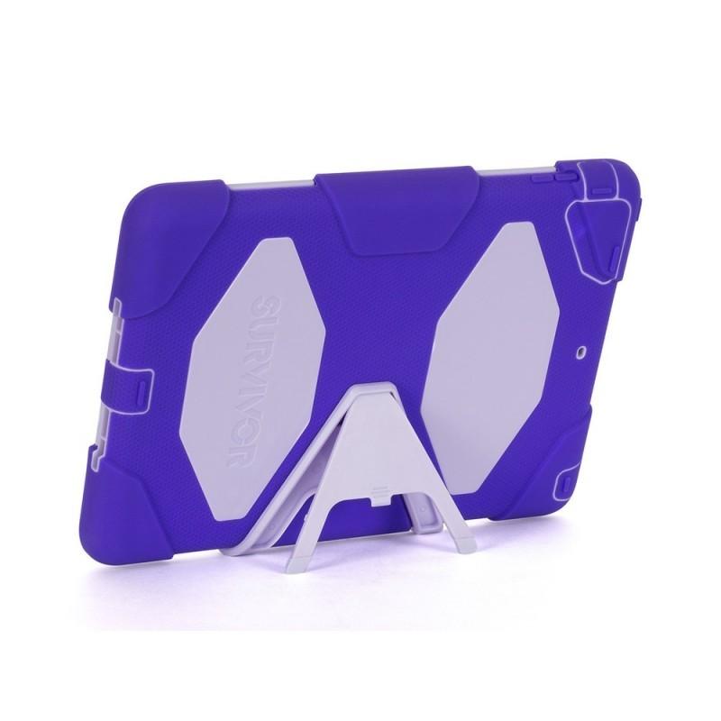 Griffin Survivor Hardcase iPad Air 1 purpur