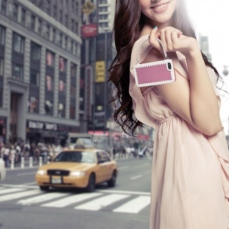 Joy Factory New York Handbag Case iPhone 5(S)/SE Lavender
