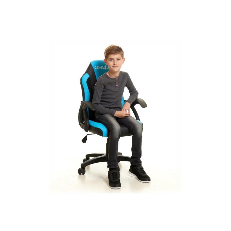 Gear4U Junior Hero Gaming Stuhl Blau / Schwarz