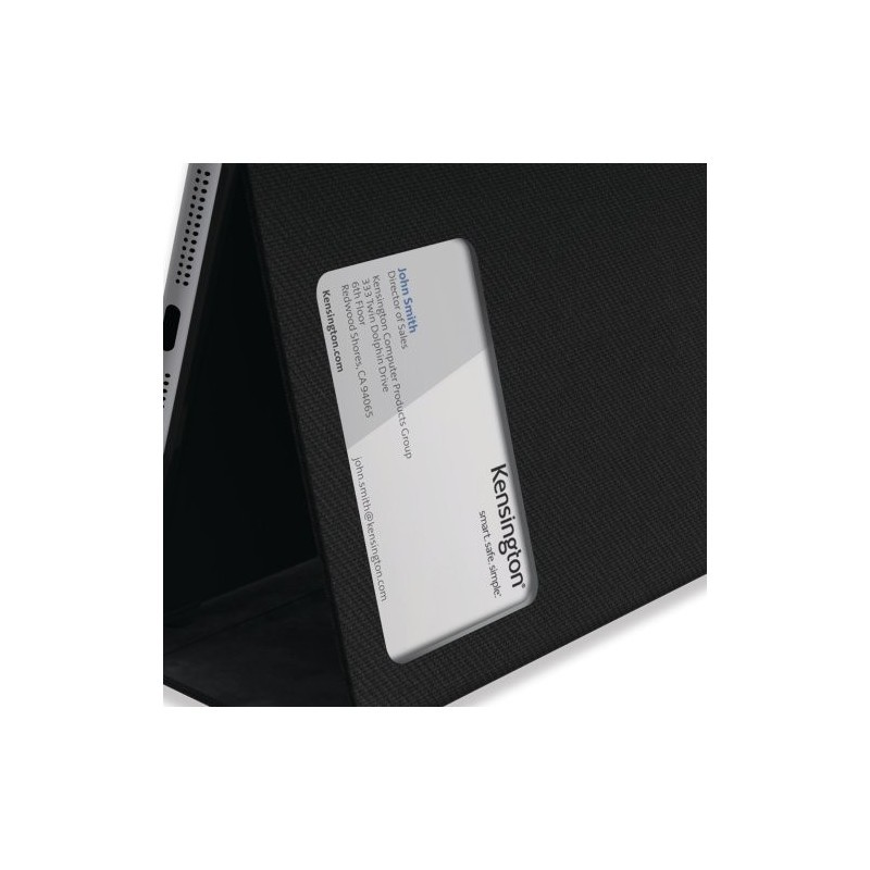 Kensington Comercio Hard Folio Case iPad Air 1 schwarz
