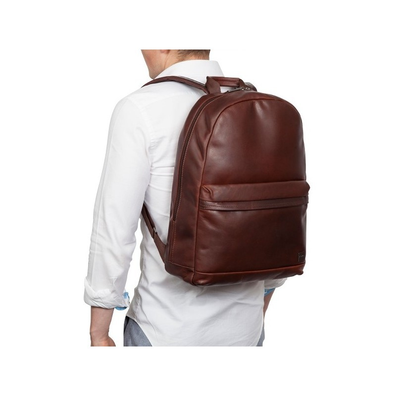 "Knomo Barbican Albion Backpack 15"" Brown"