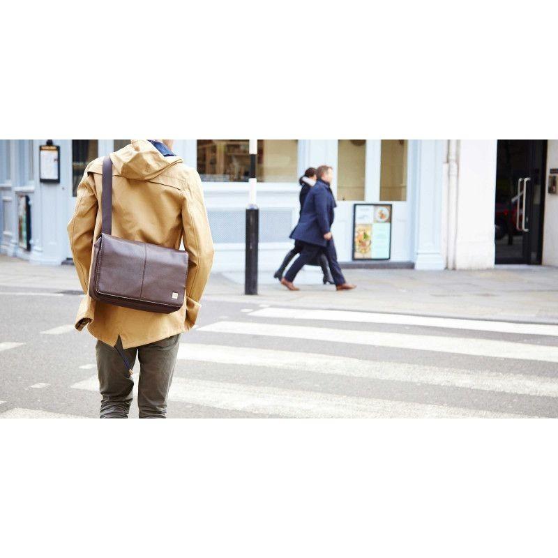 Knomo Kinsale Schultertasche Messenger 13 inch braun